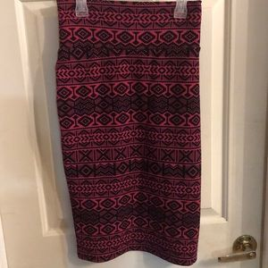 Lularoe Cassie Pencil Skirt NWOT